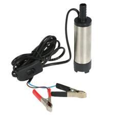 Oil Liquid Diesel Fuel Water Pump 12V Transfer Pump Water Oil Fluid Refuel Z0N1