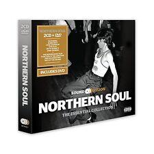NORTHERN SOUL SOUND + VISION ~ NEW SEALED 2 CD + 1 DVD SET