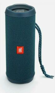 JBL Flip 4 Waterproof Portable Bluetooth Speaker - Ocean Blue in RETAIL BOX