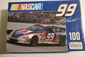 PUZZLE 2001 Vintage NASCAR 100 PIECES VISTA UNOPENED 99  Jeff Burton