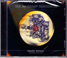 Van der Graaf Generator MERLIN ATMOS live performance 2013 CD NUOVO OVP/SEALED