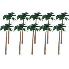 20 Model Palm Tree Railway Train Beach Wargaming Diorama Scenery HO OO 12cm
