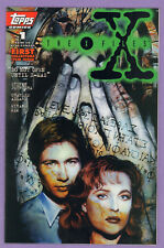 The X-Files #1 Topps Comics 1995 signed by writer Stefan Petrucha w/ COA NMMT