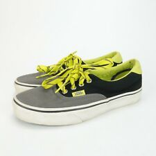 Vans Core Classics TC9R Gray Yellow Skate Shoes Lace Up Sneakers Womens 6.5