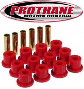 """Prothane 7-1001 67-86 GM Truck SUV 2WD 4WD 1.5"""" Eye Rear Leaf Spring Bushings"""