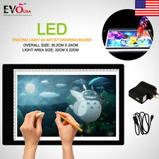 Portable LED Tracing Light Board Artist Tattoo A4 Drawing Pad Table Stencil 2018