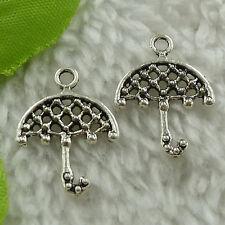 free ship 360 pieces tibet silver umbrella charms 22x16mm #3594