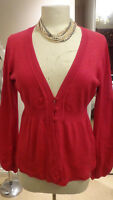 Gorgeous Ladies M&S With Stretch Pink Top Size UK 12