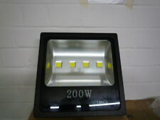 200W LED Strahler Wandfluter  Fluter Floodlight IP65 NEU OVP schwarz