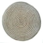 Room Wool/Jute Round Kilim Durrie Vintage Rag Non Hallway Runner Rug Slip Living