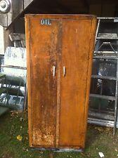 Vintage  Metal Farm house  Kitchen Cabinet Locker Pantry Industrial Barn find