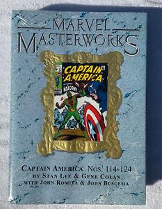 Marvel Masterworks Vol 93 CAPTAIN AMERICA Nos 114-124 - HC SEALED VARIANT