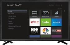 """Open-Box Excellent: Sharp - 32"""" Class - LED - 720p - Smart - HDTV Roku TV"""