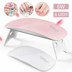 LED UV Nail Polish Dryer Lamp Gel Acrylic Curing Light Spa - FAST UK DELIVERY