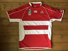 JAPAN Rugby Union Shirt Canterbury World Cup 2007 Jersey Size L Large RARE