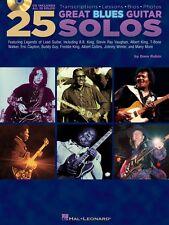 25 Great Blues Guitar Solos - Transcriptions - Lessons - Bios - Photos 000699790