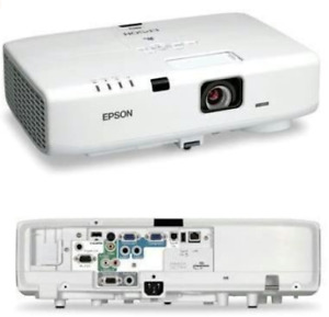 Epson Powerlite D6155W Projector HDMI+ Remote and Power Cord. Working Great