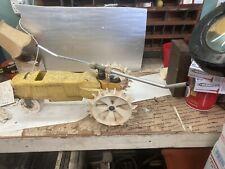 "Vtg Nelson Sprinkler Traveling Watering Lawn Garden Yard Tractor Cast Iron 19"""