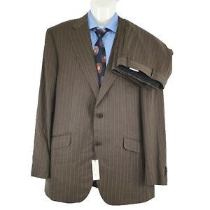NWT Def RRP $1890 Harrolds Guabello Mens 2 PC Suit Super 150 Sz EU60R AU50R SU19