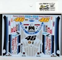 Museum Collection 1/12 Honda NSR500 '00 Nastro Azzurro Decal for TAMIYA D891 F/S