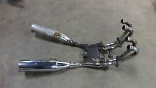 1986 Yamaha YX600 Radian YX 600 Y387. complete exhaust tail pipes mufflers