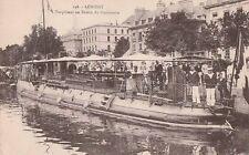 Carte Postale ancienne Bretagne LORIENT ( Morbihan ) Torpilleur Bassin Commerce