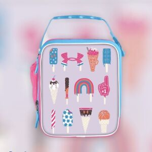 Under Armour Scrimmage 2.0 Thermos Lunch Box CRUSH-RESIST Pink / Teal Ice Cream