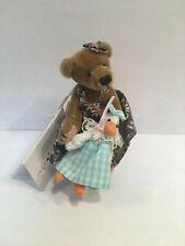 "Deb Canham Artist Bear Annalee and Miss Goosey Ltd Ed Size 3 1/2"""