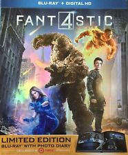 Fantastic Four 4 Limited Edition Photo Diary Blu-Ray Digital NEW Target Exclusiv