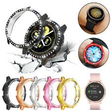 Diamond Protector Frame Case Cover For Samsung Galaxy Watch Active2 40mm 44mm S3