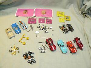 Lot of Vintage Aurora & Tyco HO Slot Car Parts, Cars, Car Bodies