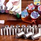 7Pcs Lot  Russian Icing Piping Nozzles Tips Cake Decor  Sugarcraft Pastry Tool