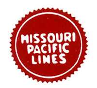 MISSOURI PACIFIC CAR ADHESIVE STICKER for American Flyer S Gauge  Trains Parts