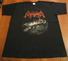 ENTHRONED 2001 VintageT-Shirt Marduk Impaled Nazarene DarkFuneral Mayhem Emepror