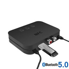 Bluetooth 5.0 Wireless Receiver Audio Transmission  Support U Disk NFX Connect^