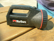 Marlboro / Coleman Flashlight Great Collectible ( Works ) Batterys Included