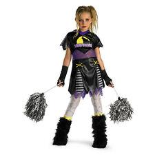 D/ceptions Werewolf Wolf Pack Leader Cheerleader Child Girls Costume Medium 7-8