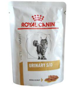 48x85g Royal Canin Urinary S/O Frischebeutel Häppchen in Soße Katzenfutter