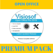 Libre Office - Office Pack- Full Microsoft Windows Compatible 10 8 7
