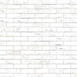 A3 White Brick Stretcher Paper/Card Tumdee 1:12 Scale Dolls House Cladding 793