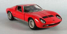 KINSMART 1971 Lamborghini Miura P400 SV (Red) 1/36 Scale Diecast Model! NEW!