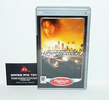 JEU PSP COMPLET NEED FOR SPEED UNDERCOVER
