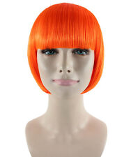 Multi Color Classic Flapper Cosplay Party Costume Wig