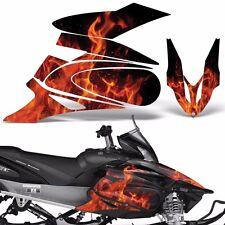 Yamaha APEX Decal Wrap Graphic Kit XTX Part Sled Snowmobile 2006-2011 ICE ORANGE