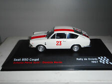 SEAT 850 COUPE RALLY OVIEDO 1967 SUTIL SEAT SPORT ALTAYA IXO 1:43