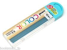 Uni Color Erasable Pencil Lead - 0.5 mm - Mint Blue