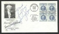 Sammy Kaye Swing & Sway Signed 1960 Polish Statesman FDC Envelope died-1987 COA