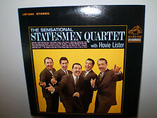 "THE STATESMEN QUARTET & HOVIE LISTER..""THE SENSATIONAL""...AUTOGRAPHED GOSPEL LP"