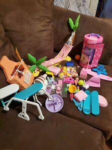 Barbie  Hammock plus tons of other and accessories