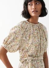 STOCKHOLM ATELIER & other stories BELTED RAGLAN SLEEVE Floral MAXI DRESS - 2
